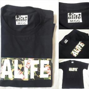 Camisa Alife Collab Bape A Bathing Ape Skate Oferta Promoção