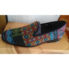 Zapato Hombre Tipo Huichol Numero 25 1/2 Suela Cuero