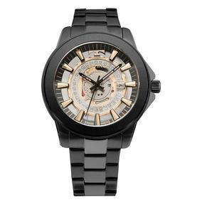 fb5c610d27624 Relógio Technos Masculino Classic Suiço F06111ac 4w Preto