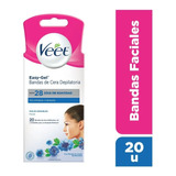 Veet Bandas Depilatorias Faciales X20 Piel Normal Y Sensible