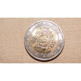 Belíssima Moeda De Dois Euros Comemorativa Da Irlanda