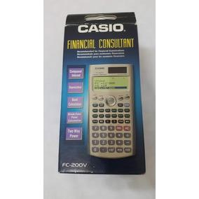 Calculadora Casio Finaciera Fc-200v