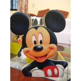 10 Centro Mesa Mickey Mouse Infantil Mickey Mouse Madera