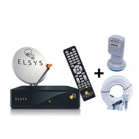 Kit Oi Tv Livre Digital Hd Elsys Completo