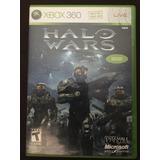 Videojuego Halo Wars Para Xbox 360