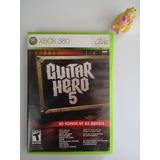 Guitar Hero Gh 5 Xbox 360 Garantizado