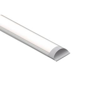 Kit 8 Luminária Tubular Sobrepor Led 40w Branco Frio 120cm