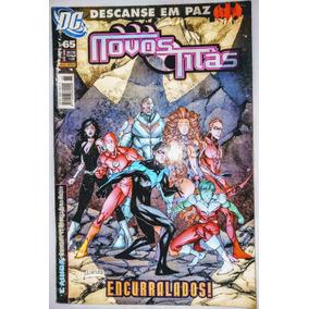 Hq - Novos Titãs Nº 65 - Encurralados!