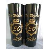 Kit 30 Copos Long Drink Personalizado 350 Ml Acrilico Brinde