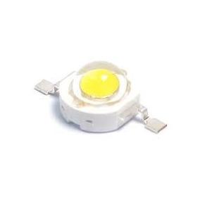 Kit 160 Peças Super Led Chip 1w 3v Branco Quente