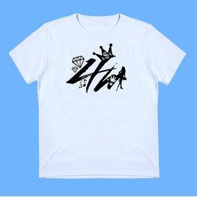Camiseta Algodão Baby Look Branca Regata Masculina 4m A48-25 9e43cf1001a5e