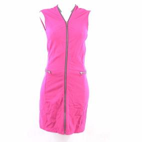 Julio2 Vestido Midi Liso Cierre Rosa 2 Msrp $1200