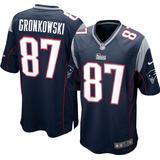 Camisa Futebol Americano New England Patriots Rob Gronkowski