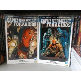 Capuz Vermelho E Os Foragidos Volumes 1 E 2 Dc Renascimento