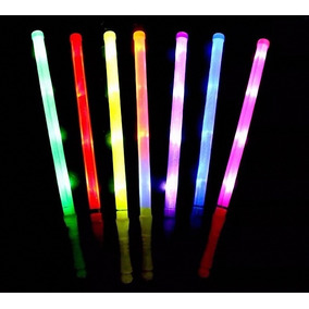 10 Varitas Luminosas Espada Baston Con Luz Led Colores