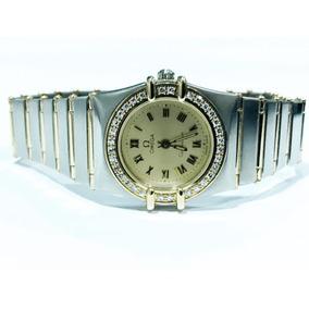 48e787b3949 Relógio Omega Em Ouro Branco E Brilhantes - Relógios De Pulso no ...