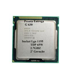 Pentium Intel Dualcore G630 Socket 1155 2.7ghz + Pasta