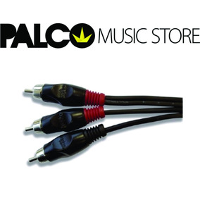 Cabo Audio Bk 0,18mm Rca X 2rca Ac1 2m Santo Angelo