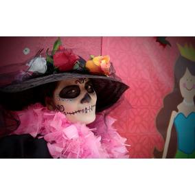 Sombreros De Catrina Adulto Mujer ¡envío Gratis! 9d18831c413