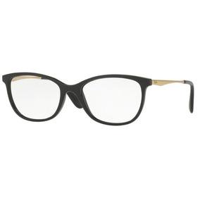 Armação Oculos Grau Ray Ban Rb7106l 5697 53mm Preto Dourado 8d844e82af