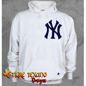 Sudadera Mlb Yankees Yanquis New York Tigre Texano Designs