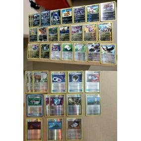 Pokémon Coleção Cartas Antigas Foils / Reverso Foils