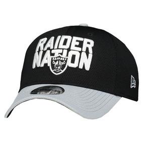 Boné New Era Nfl Oakland Raiders 3930 Logo Preto E Cinza ea73fb6f5d8