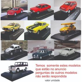 Miniatura Carros Inesquecíveis Brasil Valor Unitário