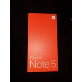 Redmi Note 5 Global Versión 4gb Ram 64 Gb