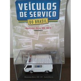 Ambulância Mercedes-benz Mb 180d Veiculos De Serviço N 16
