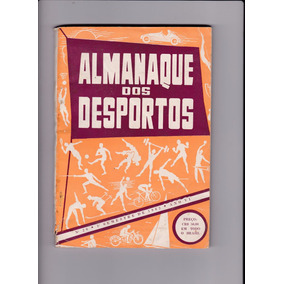 Revista Almanaque Dos Desportos Nº 20 - 1º Semestre De 1962