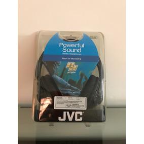 Fone Jvc Dj - Ha-x580 C/ Adaptador P2 Para P10