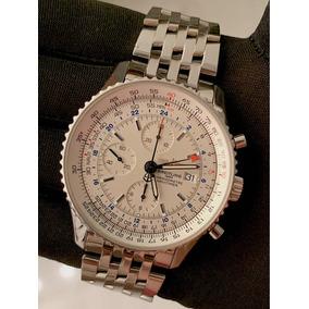 56242cec15c Relógio Breitling 1884 -chronographe - - Relógios no Mercado Livre ...