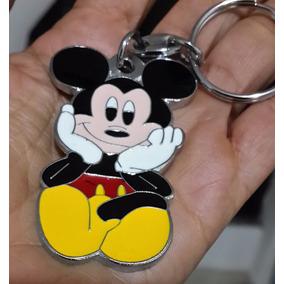 Mickey Mouse Precioso Llavero Metalico Mickey Mouse 0949 dec82933d85