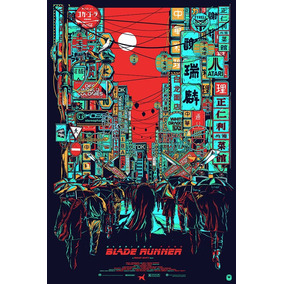 Poster Blade Runner - Manger (75x50cms)
