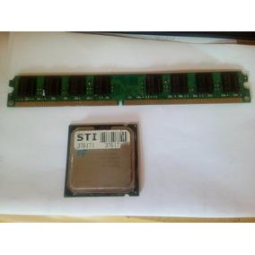 Processador Intel Pentium 4 3.00ghz E Ram 2gb Ddr2 Fsb 1333