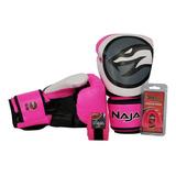 Kit Luva Muay Thai / Boxe Naja Colors Fluor +bandag+p.bucal