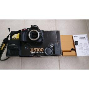 ## Camera Nikon D5100 Corpo Orig 21.450 Clicks Garant Sp Cps