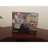 Nintendo Wii U Negro Deluxe Set (32gb)+dos Juegos Originales