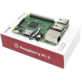 Raspberry Pi3 Pi 3 Model B Quadcore 1.2ghz Na Caixa