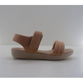 Sandalia Ana Flex Lycra Nude 453315a