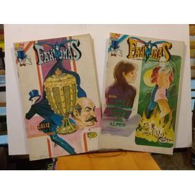 Comic - Lote De 5 Revistas Fantomas -editorial Novaro