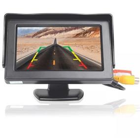 Tela Lcd 4.3 Polegadas Portátil Monitor Veicular Digital E75