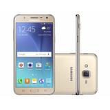 Smartphone Samsung Galaxy J7 Duos Dourado Com 16gb