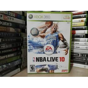 Jogo De Basquete Nba Live 10 Xbox 360 Original Mídia Física