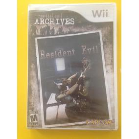 Wii Resident Evil Archives - Lacrado De Fábrica