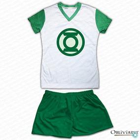 572e0f7a5 Pijama Adulto Feminino Super Heróis - Liga Da Justiça