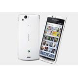 Smartphone Xperia Arc S 4.2 8.1mp Blancolibre Bluetooth Lt18