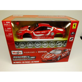 Maisto - Ferrari Fiorano 1/24 - Kit Para Montar - 36 Peças