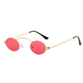 Óculos Sol Redondo Oval Pequeno Retrô Proteç Uv400 Vintage 11d4ec109f